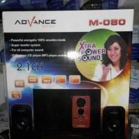 speaker aktif advance m-080