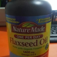 NATURE MADE TRIPLE OMEGA FLAXSEED OIL 1400mg 300 SOFT GELL
