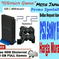 PROMO!!!PLAYSTATION 2/PS SONY FAT HDD 40gb FULLGAME + 2 STICK