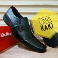 Jual Sepatu Kickers Pantofel Kulit Sabuk Wanita Pria / Sepatu Pantofel Murah
