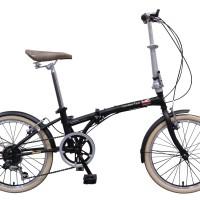 London Taxi Folding Bike 20 Inch - Black