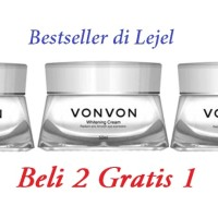 harga Magic Whitening Cream Vonvon Beli 2 Garatis 1 Tokopedia.com