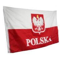 B/74 Bendera Nasional Polska Poland Polandia Flag 1,5 Meter