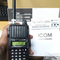 JUAL HT ICOM IC V80 VHF ORIGINAL GARANSI RESMI 100%