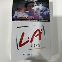 LA Lights Merah 16 Batang / Light Red / Rokok Grosir Promo / Djarum