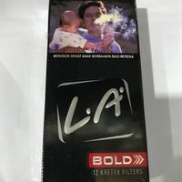 LA Bold 12 Batang / Rokok Djarum Kretek Filter / Grosir Bol Cigarettes