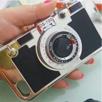jelly case camera mirrorless dslr pink samsung J5 J7 Iphone 6 Plus