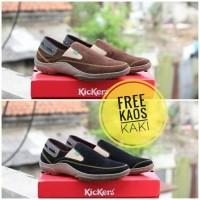 harga Sepatu Casual Slip On Kickers Suede Pria Wanita // Sepatu Casual Murah Tokopedia.com