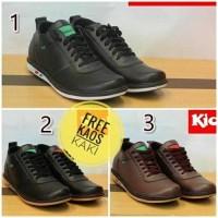 Jual Sepatu Casual Pria Wanita Kulit Kickers // Sepatu Casual Kulit Murah Murah