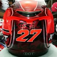Helm Kyt K2 Rider SE Motif Andi Gilang 2 Visor