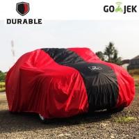 Harga vw caravelle durable premium car body cover tutup mobil red list | Pembandingharga.com