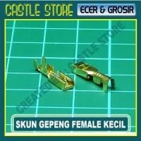 harga Skun Gepeng Cowok Female Kecil / Soket Motor / Skun Motor /skun Kabel Tokopedia.com