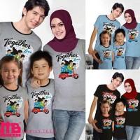 Baju Couple Keluarga Family Kaos Tees Anak Ayah Bunda VT-010