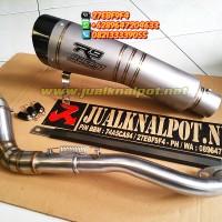 Knalpot Racing Custom Yamaha Aerox R9 H2 Titanium SB Full System