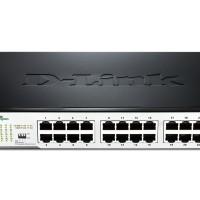 D-Link Switch DGS-1024D 24-Port Gigabit Desktop/Rackmount Switch In Me