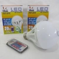harga Ms-y032tp Lampu Bohlam Led Mitsuyama Remote Dan Timer 20 Watt Tokopedia.com