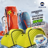 [ AVALON FAIR ] DEUTER ACT LITE 35+10 SL & GOGO + 2 Pcs NSM COUPLE