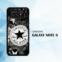 harga Casing Samsung Galaxy Note 8 Converse All Star X5672 Tokopedia.com