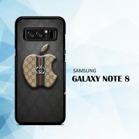 harga Casing Samsung Galaxy Note 8 Gucci Apple Logo X5099 Tokopedia.com