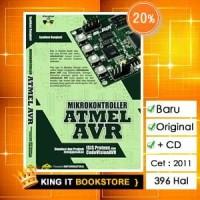 Buku Mikrokontroler Atmel Avr (isis Proteus Dan Codevisionavr) + Cd