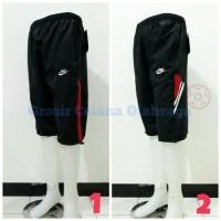 Celana Olahraga 3/4 Stopper Nike Adidas Bahan Parasut/Despo