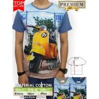 Jual Koleksi kaos pria keren Kaos 3D Full Print Baju Gaul Cowok Promo Murah