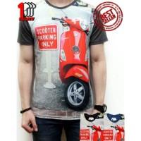 Jual Koleksi kaos pria keren Kaos 3D Full Print Thailand Cotton Baju Katun Murah