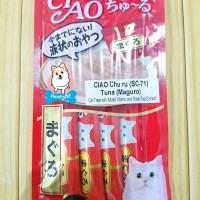 Snack kucing/ CIAO Chu Ru Tuna/ Maguro SC-71 (red)
