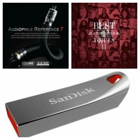 Top 300 Lagu Koleksi Audiophile Song Mp3 320kbps dan Flashdisk Sandisk