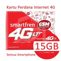 harga Kartu Perdana Internet Smartfren 4g Sp Gsm Kuota 15 Gb 35 Hari Tokopedia.com