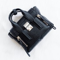 Phillip Lim Mini Pashli Black SHW