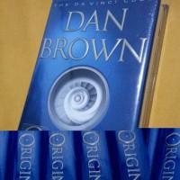 SOLD OUT Novel Import Dan Brown ORIGIN US Version New SEGEL