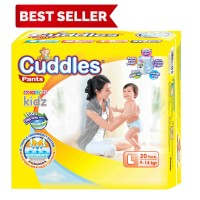 Popok - Cuddles Diapers Pull-Up Pants L20-better than sweety mamy poko