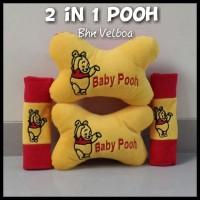 Jual Bantal Mobil Car Set Karakter Boneka Winnie The Pooh 2in1 Murah