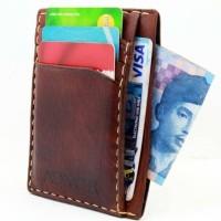 Jual Dompet Kartu / Card holder / Card wallet Kulit Asli Handmade Adivor Murah