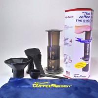 Jual Original Aerobie AeroPress Coffee Maker with Tote Bag Murah