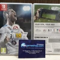KASET GAME ORIGINAL NINTENDO SWITCH FIFA 18 STANDARD EDITION EURO/JAP