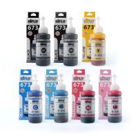 AIflo 673 Paket Kombinasi 7 Botol Untuk Printer Epson L800 L1800