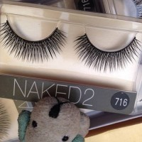 Bulu Mata Palsu Naked Urban Decay Fashion Eyelash Natural Looking 716