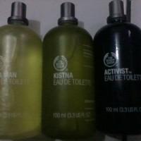 "Parfum Body Shop Original Reject ""Kistna, Of A Man, Arber"