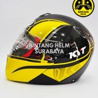 harga Helm Full Face Kyt X Rocket Yellow Black Gunmetal Tokopedia.com
