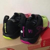 NEW ARRIVAL Sepatu Futsal Specs Metasala Combat V8 Black Green Pink
