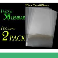 Jual Pp Mika Kantong Plastik Ketabalan 0 10 Mikron 20x35 Cm Kab