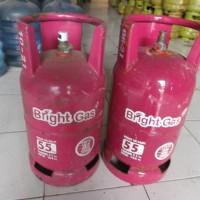 Tabung Gas Bright Gas 5.5 Kg 5,5 Kg isi (via gojek only)