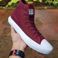 Sepatu All Star Converse Chuck Taylor / CT Maroon Tinggi Murah