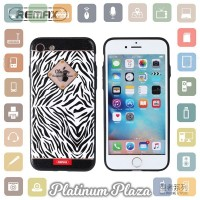 Remax Sinche Series Hard Case for iPhone 7/8 - Black White`66QJNE-