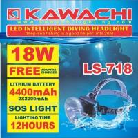 harga Senter Kepala Nyelam Super Led 18w Cas Isi Ulang Kawachi Ls 718 Kuning Tokopedia.com