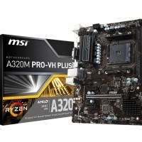 MSI A320M PRO-VH PLUS AMD A320 AM4 DDR4 Micro ATX Motherboard