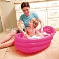 Jual Kolam Bayi Baby Tub Bestway #51113 - Pink Murah