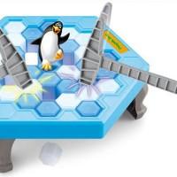Mainan Running Man Board Game Toys Save The Penguin Knock Ice ME145